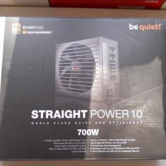 Sursa Be Quiet Straight Power 10, 80+ Gold 700W in garantie. - Sursa PC Be quiet!, 700 Watt