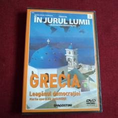DVD IN JURUL LUMII - GRECIA - Film documentare, Romana