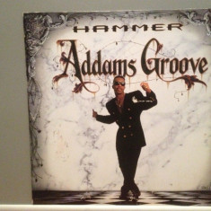 MC HAMMER - ADDAMS GROOVE (1991/CAPITOL/GERMANY) - VINIL Maxi-Single