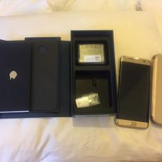 Samsung Galaxy S7 Edge gold dual sim 32GB - Telefon Samsung, Auriu, Neblocat, Single SIM