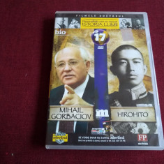 DVD PERSONALITATI CARE AU MARCAT ISTORIA LUMII - MIHAIL GORBACIOV / HIROHITO - Film documentare, Romana