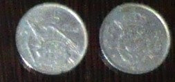 SPANIA 5 PTAS - LOT 2 MONEDE 1957, 1975 foto