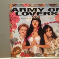 ARMY OF LOVERS - MY ARMY OF LOVERS (1991/REPRISE/USA) - VINIL Maxi-Single