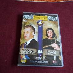 DVD PERSONALITATI CARE AU MARCAT ISTORIA LUMII - NICOLAE CEAUSESCU / IOANA D'A - Film documentare, Romana