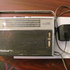 GE - Radio vechi ALBATROS 4 game 8 tranzistoare comunist Romania nefunctional - Aparat radio, Analog