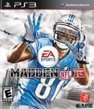 Madden NFL 13  -  PS3 [Second hand] cod, Sporturi, 3+, Multiplayer