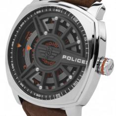Ceas Police Speed Head PL15239JS.61 - Ceas barbatesc Police, Casual, Quartz, Inox, Piele, Analog