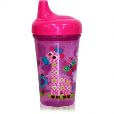 Cana cu Cioc Ergonomic Zoo 300 ml Pink - Cana bebelusi