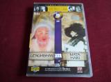 DVD  PERSONALITATI CARE AU MARCAT ISTORIA LUMII - GENGHISHAN  / MATA HARI, Romana