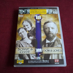 DVD PERSONALITATI CARE AU MARCAT ISTORIA LUMII - BONNIE & CLYDE / DOW&JONES - Film documentare, Romana