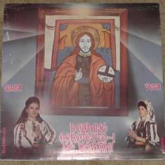 Colinde Veta Biris /Sava Negrean Brudascu - Doamne Ocroteste-i Pe Romani,VG+, VINIL