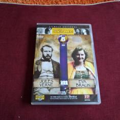 DVD PERSONALITATI CARE AU MARCAT ISTORIA LUMII - JULES VERNE / EVA BRAUN - Film documentare, Romana