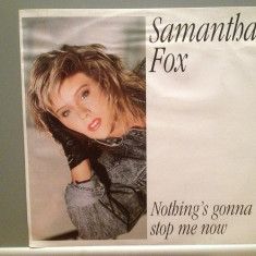 SAMANTHA FOX - NOTHING'S GONNA STOP ME (1987/ZOMBA/RFG) - VINIL Maxi-Single