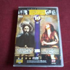 DVD PERSONALITATI CARE AU MARCAT ISTORIA LUMII - CRISTOFOR COLUMB / MARIA MAG - Film documentare, Romana