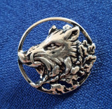 Insigna Vanatoare - tema AGVPS - Mistret - argintata