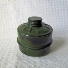 Filtru vechi masca de gaze romaneasca RSR , filtru masca gaze anii 80