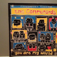 THE COMUNARDS - YOU ARE...(1987/METRONOME/W.GERMANY) - VINIL Maxi-Single