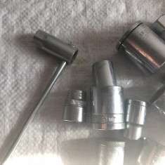 Set capete chei tubulare(diferite marimi) - Cheie tubulara