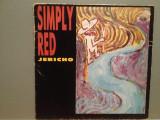 "SIMPLY RED - JERICHO (1986/WARNER/W.GERMANY) - VINIL Maxi-Single ""12/"