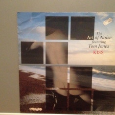 THE ART OF NOISE feat TOM JONES - KISS (1988/POLYDOR/) - VINIL Maxi-Single