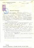 Z488 DOCUMENT VECHI -LICEUL TEORETIC DE FETE , BRAILA-ALEXANDRINA NESTOZIDE-1942
