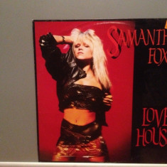 SAMANTHA FOX - LOVE HOUSE (1988/ZOMBA/W.GERMANY) - VINIL Maxi-Single