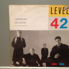 LEVEL 42 - LESSONS IN LOVE (1986/POLYDOR/W.GERMANY) - VINIL Maxi-Single