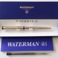 Pix Waterman Exclusive, Gold, Silver Plated, Made in France, Rar