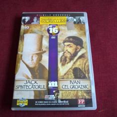 DVD PERSONALITATI CARE AU MARCAT ISTORIA LUMII -JACK SPINTECATORUL/ IVAN CEL - Film documentare, Romana
