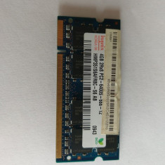 Memorie RAM laptop DDR2 hynix 4gb 2rx8 pc2-6400s-666-12, 800 mhz