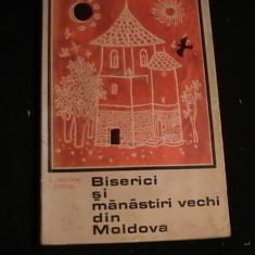 BISERICI SI  MANASTIRI VECHI DIN MOLDOVA-N. GRIGORAS-I. CAPROSU-FOTO-ALB NEGRU-, Alta editura