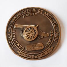 Medalie Scoala militara de ofiteri de artilerie - Sibiu