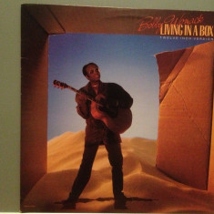 BOBBY WOMACK - LIVING IN A BOX (1987/RCA/GERMANY) - VINIL Maxi-Single