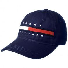 Sapca TOMMY HILFIGER - Sapca, Sepci Barbati - 100% AUTENTIC - Sapca Barbati Tommy Hilfiger, Marime: Marime universala, Culoare: Bleumarin
