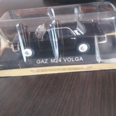 Macheta metal gaz m24 volga + revista masini de legenda nr. 42 - Macheta auto, 1:43