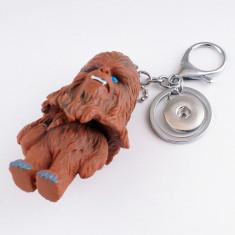 Breloc  tematica film Star wars chewbacca + ambalaj cadou