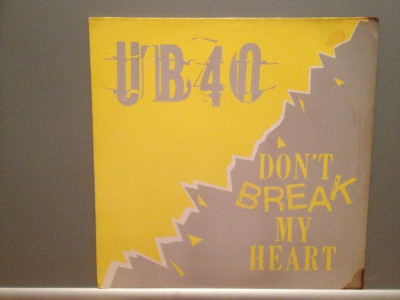 "UB40 - DON'T BREAK MY HEART (1985/DEP INT/UK) - VINIL Maxi-Single ""12/NM foto"