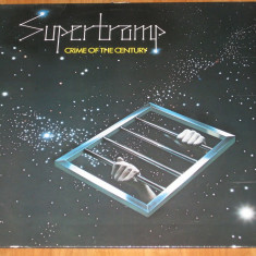 Supertramp - Crime Of The Century (1974, A&M) disc vinil LP album original