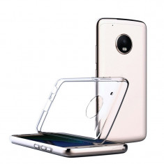Husa Motorola Moto Z2 PLAY silicon subtire transparenta - Husa Telefon, Negru