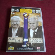 DVD PERSONALITATI CARE AU MARCAT ISTORIA LUMII - BORIS ELTIN / SLOBODAN MILOSE - Film documentare, Romana