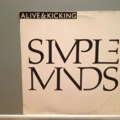SIMPLE MINDS - ALIVE $ KICKING (1985/VIRGIN/W.GERMANY) - VINIL Maxi-Single