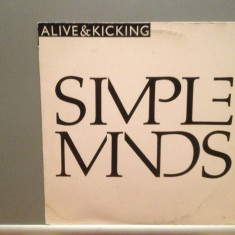 SIMPLE MINDS - ALIVE $ KICKING (1985/VIRGIN/W.GERMANY) - VINIL Maxi-Single