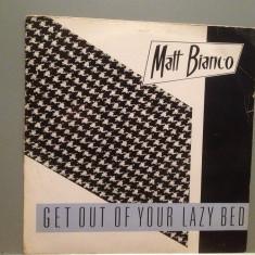 "MATT BIANCO - GET OUT OF YOUR (1983/WARNER/W.GERMANY) - VINIL Maxi-Single ""12/NM - Muzica Pop"