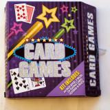 Set cărți de joc Card Games cu instrucțiuni și accesorii ideal cadou