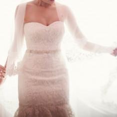 Rochie de mireasa model sirena Natalia Vasiliev, Rochii de mireasa sirena