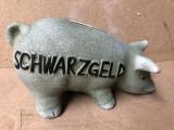 Pusculita veche,ceramica,germana,schwarzgeld,purcel