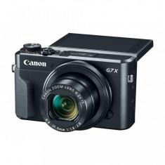 Camera foto Canon PowerShot G7x MARK II, 20.1Mpx, sensor CMOS, procesor DICIC 7, zoom optic 4.2x, zoom digital 4x, stabilizare optica, autofocus, ... - Aparate foto compacte