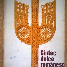 Cantec dulce romanesc Prelucrari corale {1975}