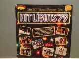 HIT LIGHTS'79 - VARIOUS ARTISTS (1980/ARCADE/West Germany) - VINIL/Analog