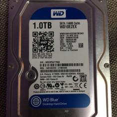 Hard-disk PC 1 TB Western Digital WD Blue Sata3 7200 rpm 64MB 100% health P115, 1-1.9 TB, SATA 3